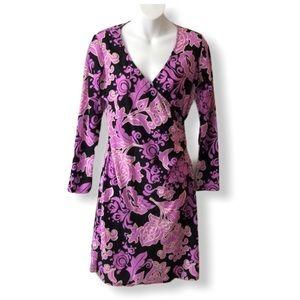 Jude Connally Diane Faux Wrap Dress